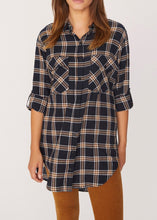 Plaid Boyfriend Tunic