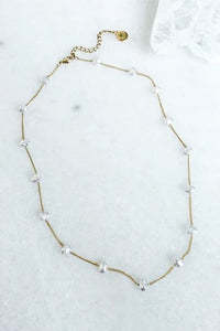 Adalee Pearl Necklace