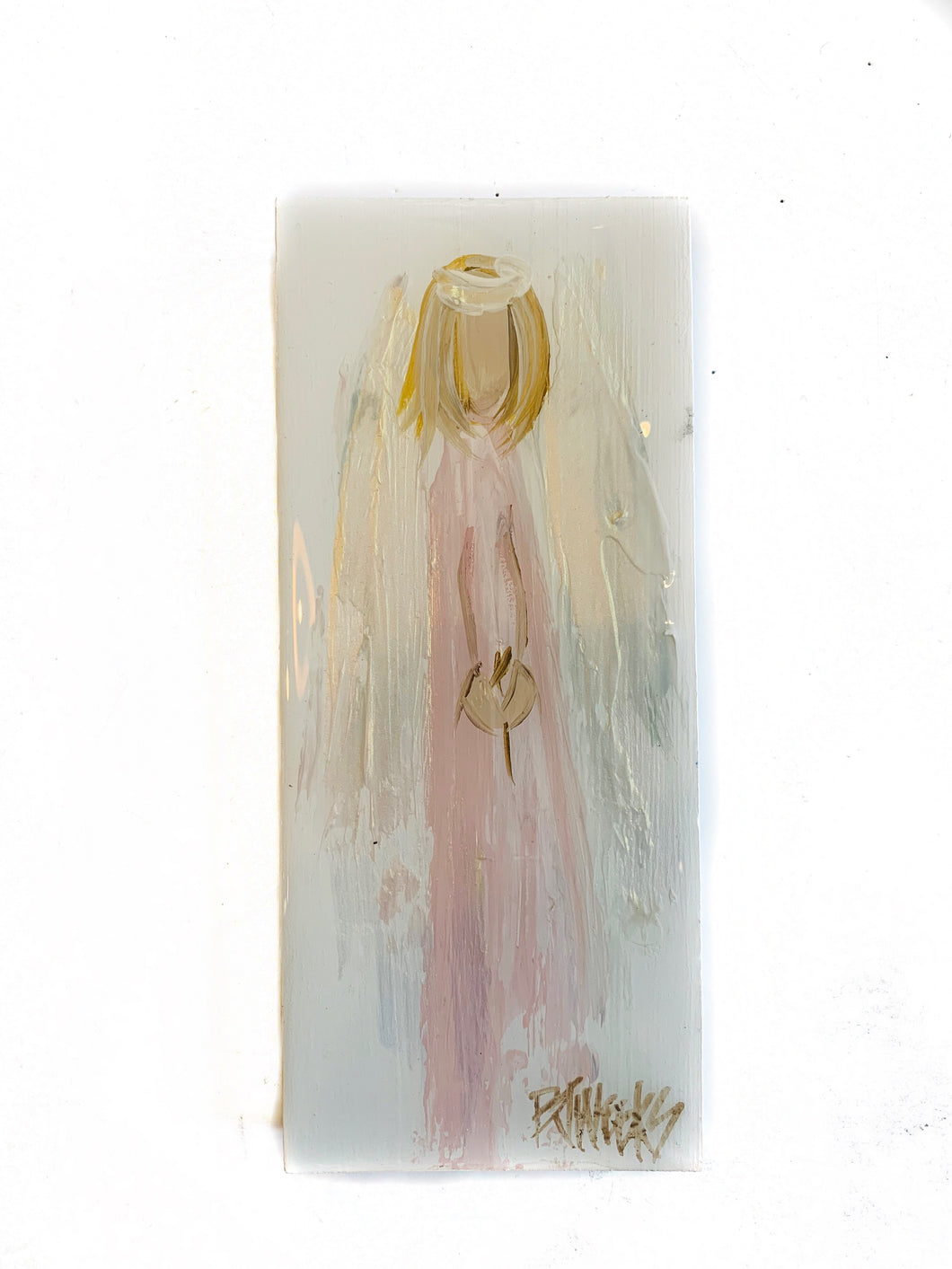 4x8 Angel on Wood