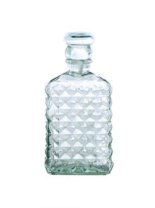 Diamond Pattern Decanter