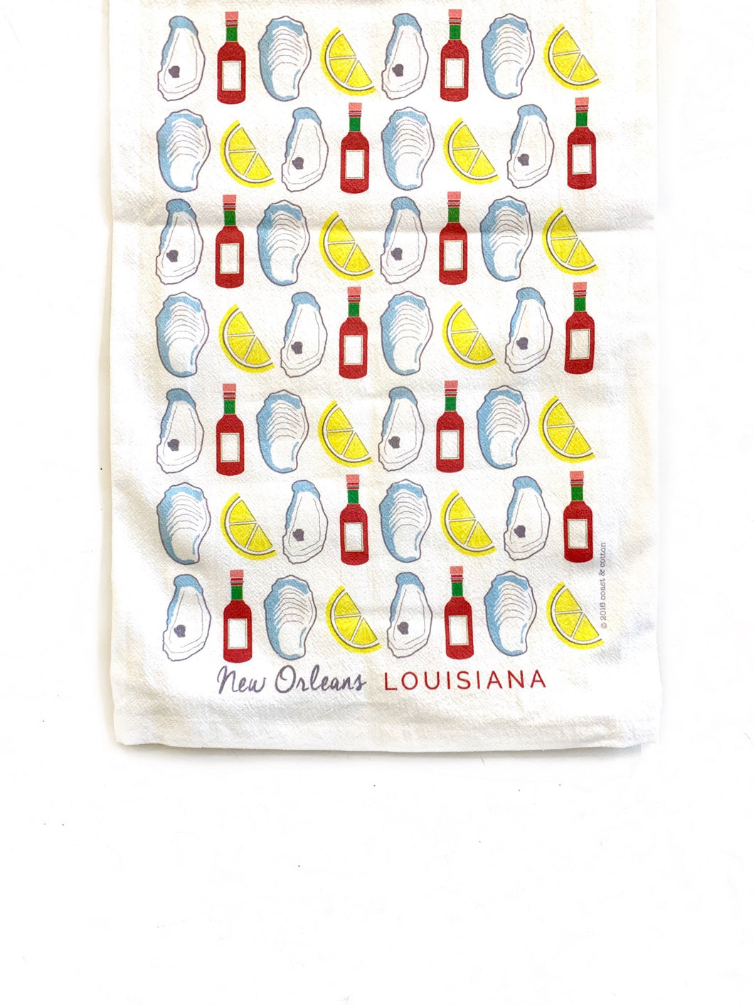 Oysters/New Orleans Towel