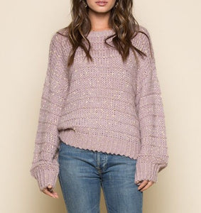 Lilac Pullover Sweater