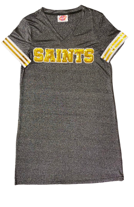Saints Sparkle Dress