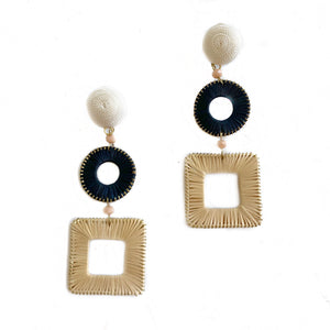 Domino Earrings-Multi