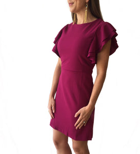 MR Ruffle Sleeve Dress