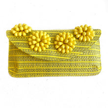 Beaded Flower Clutch