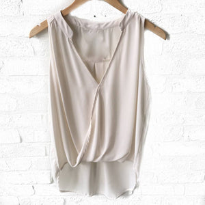 S/Less Surplice Collar Top