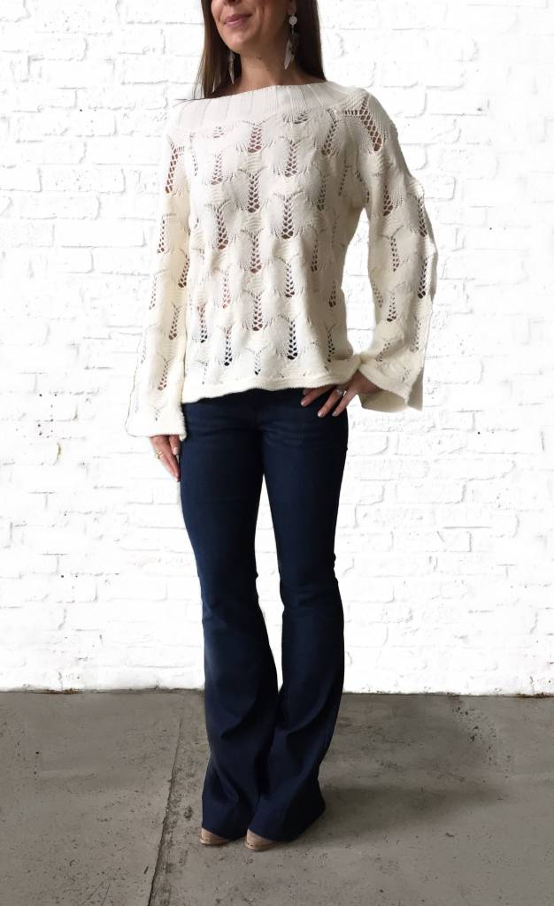 Ivory Megan Sweater  large