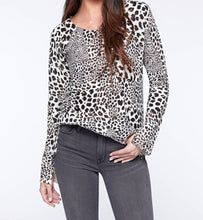 Leopard Crewneck Sweater-FQ