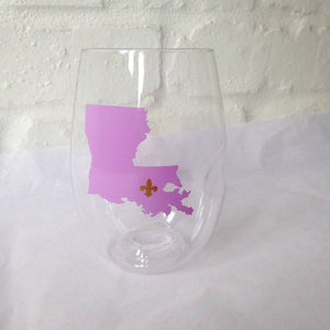 LA FDL Wine Glasses-GD