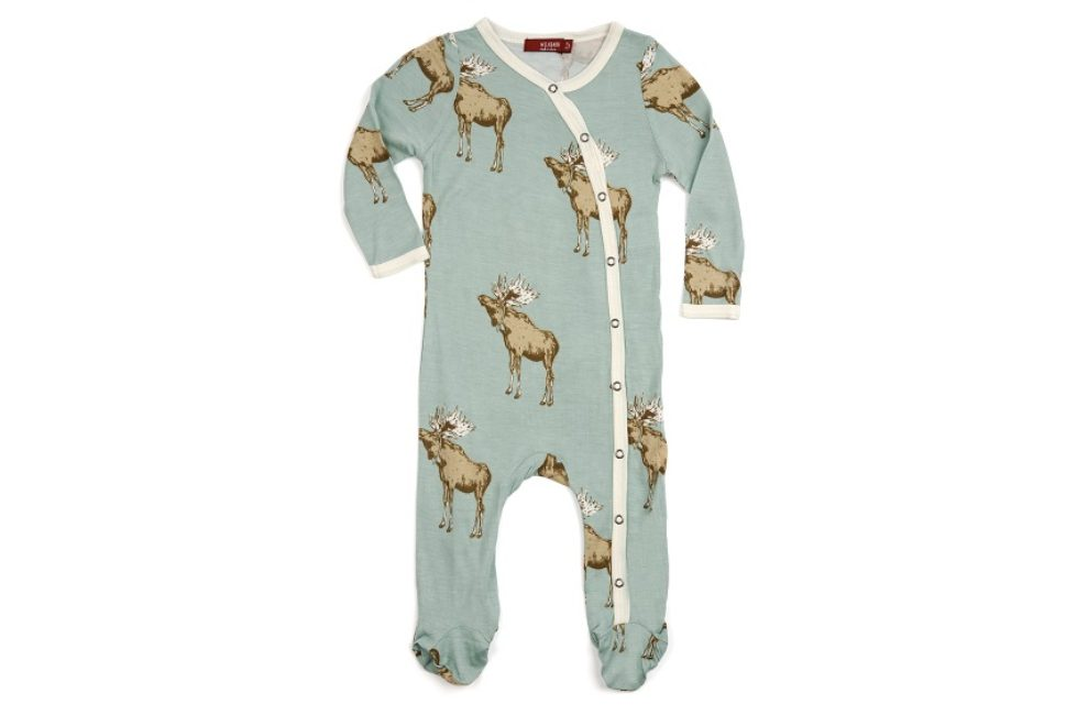 Bamboo Footed Romper-MR