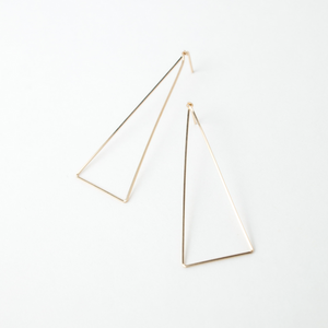 MR Naked Triangle Earring