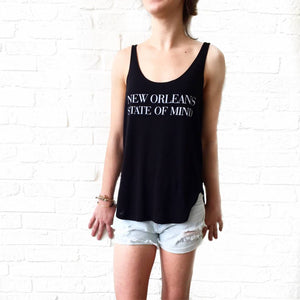 Black New Orleans State of Mind Tank