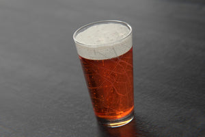 NOLA Map Pint Glass-GD
