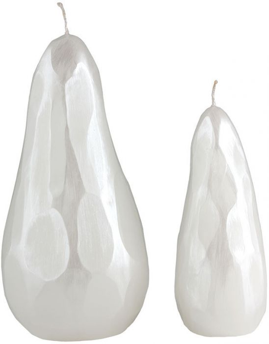 Faceted Pear Candle-Large
