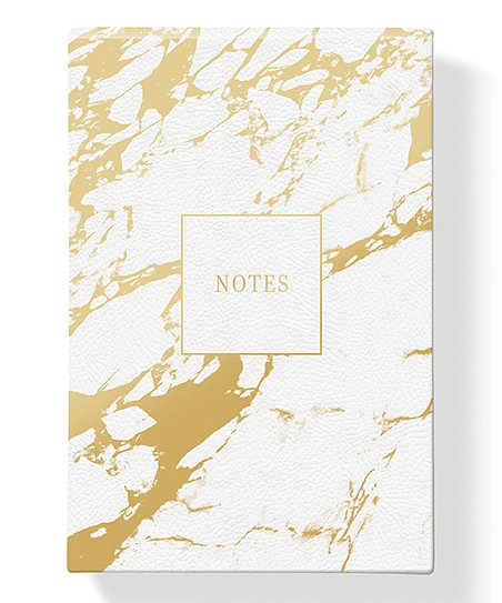 White Marble Note Pad