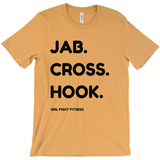 Jab Cross Hook T-Shirt - Multiple Colors
