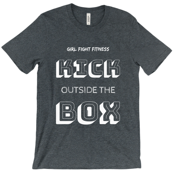 Kick Outside the Box T-Shirt - Multiple Colors