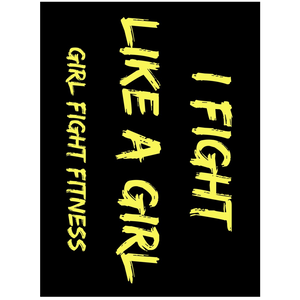 I Fight Like a Girl Stickers - 3 Pack