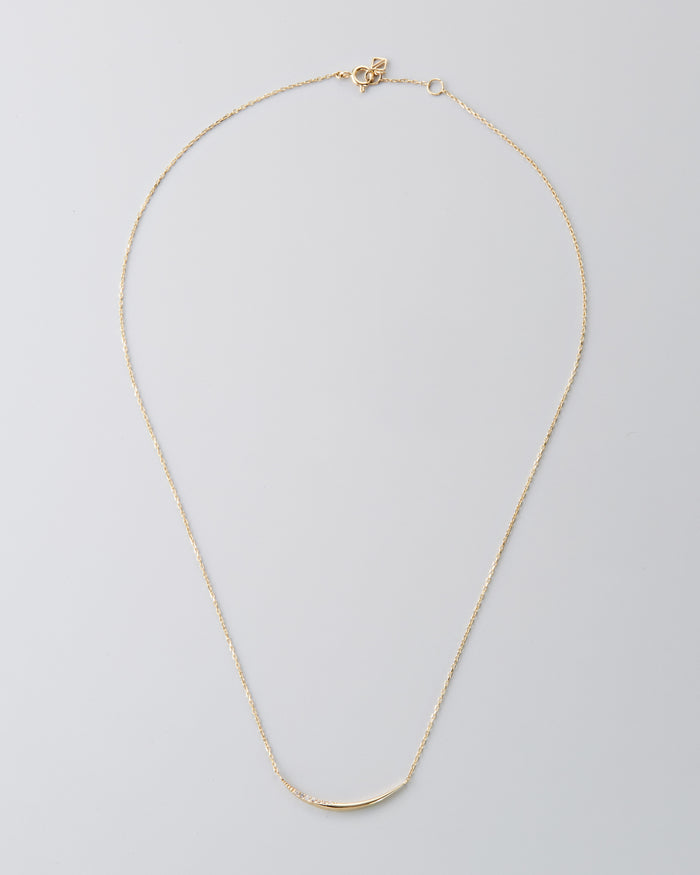 "14K Yellow Gold 16"" Diamond Necklace"