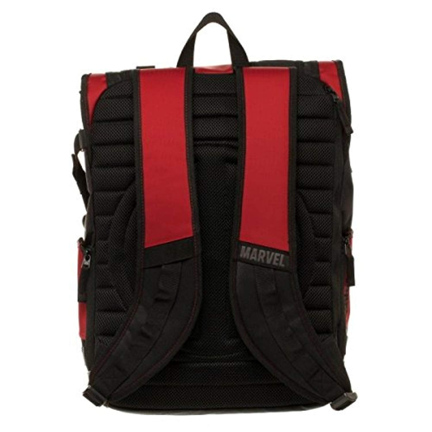 a66794b202 Bioworld Marvel Deadpool Tactical Roll Top Backpack Bioworld Marvel  Deadpool Tactical Roll Top Backpack