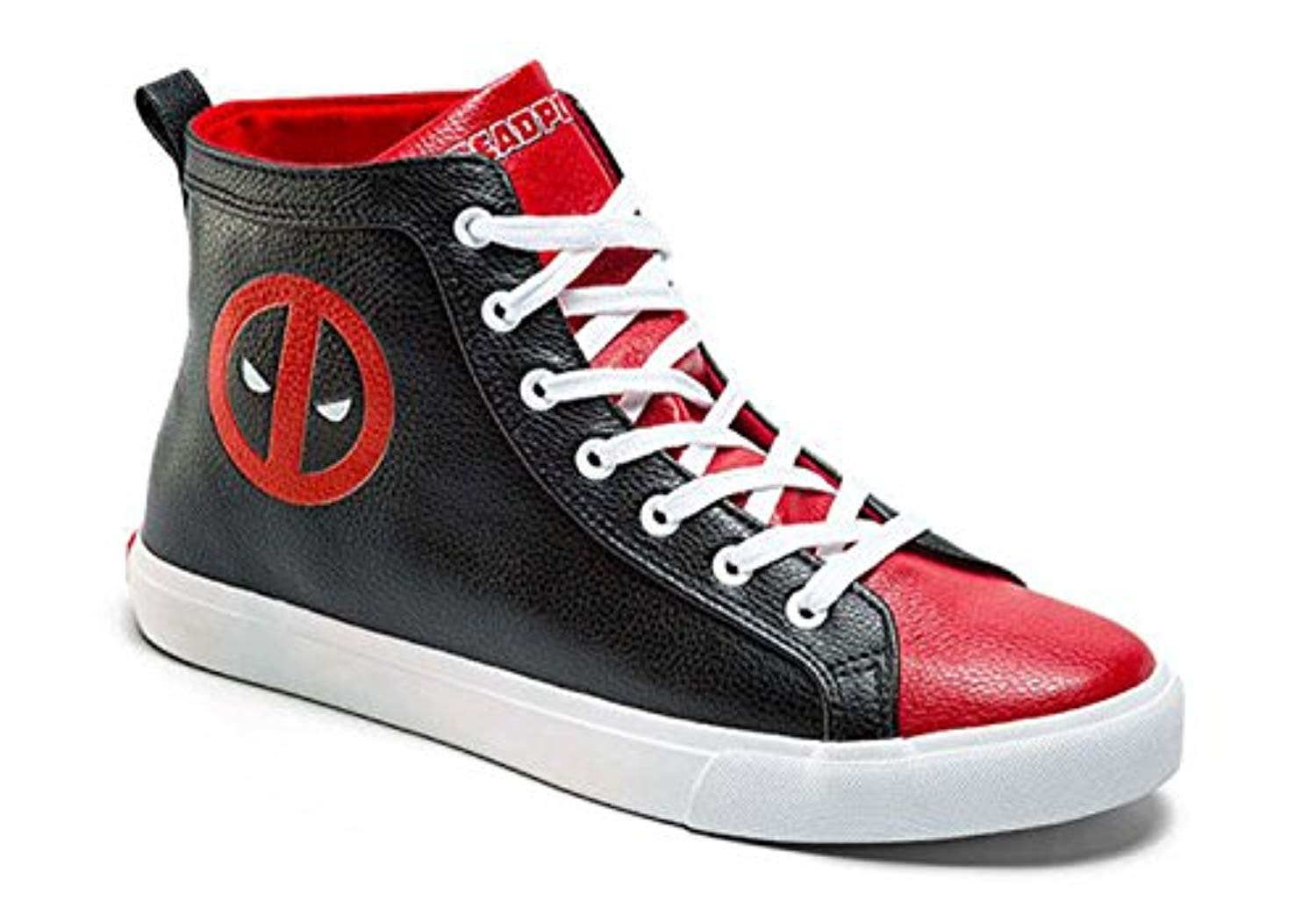 Superhero Deadpool High-Tops Canvas Shoes Adult Ankle Sneakers New v.038