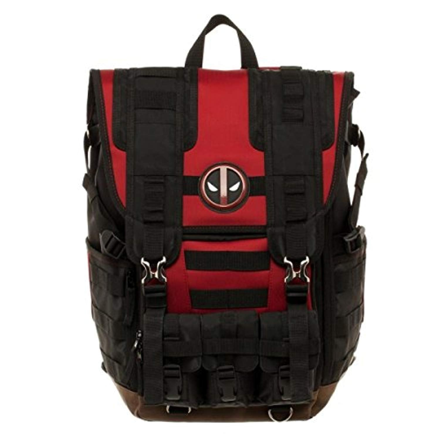dafa1c1cf8 Bioworld Marvel Deadpool Tactical Roll Top Backpack – cartrigeblower