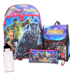 Avengers Marvel  Backpack With Lunch Bag