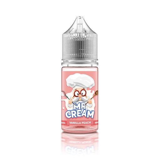 Little Mr Cream - Vannila Peach - 25ml - My Vape Store