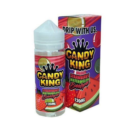 Candy King - Strawberry Watermelon 100ml Shortfill - 0mg - My Vape Store UK