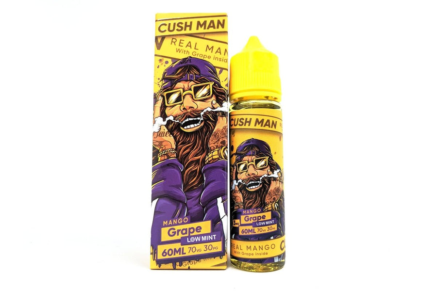 Nasty - Cush Man - Mango & Grape - 50ml Shortfill - 0mg - My Vape Store