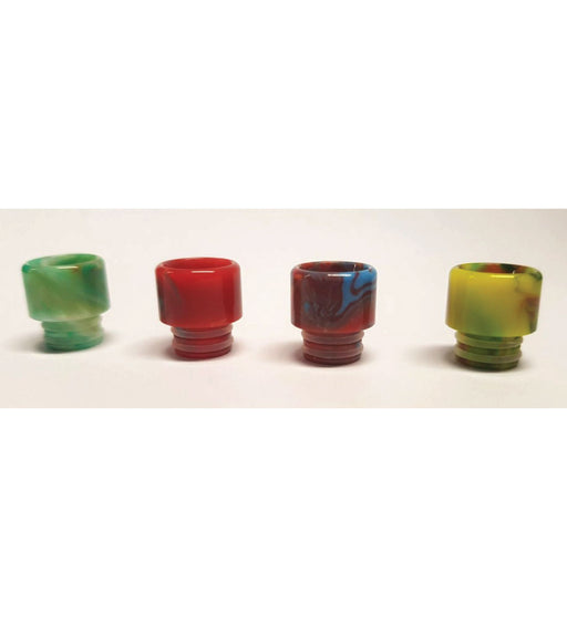 510 Resin Drip Tips - Marble Effect - Short - My Vape Store UK