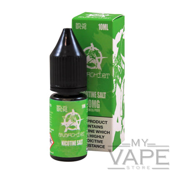 Anarchist - Green - Nic Salts - 10ml - My Vape Store