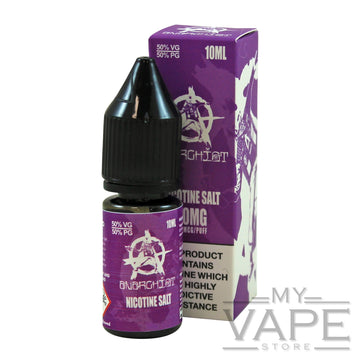 Anarchist - Purple - Nic Salts - 10ml - My Vape Store