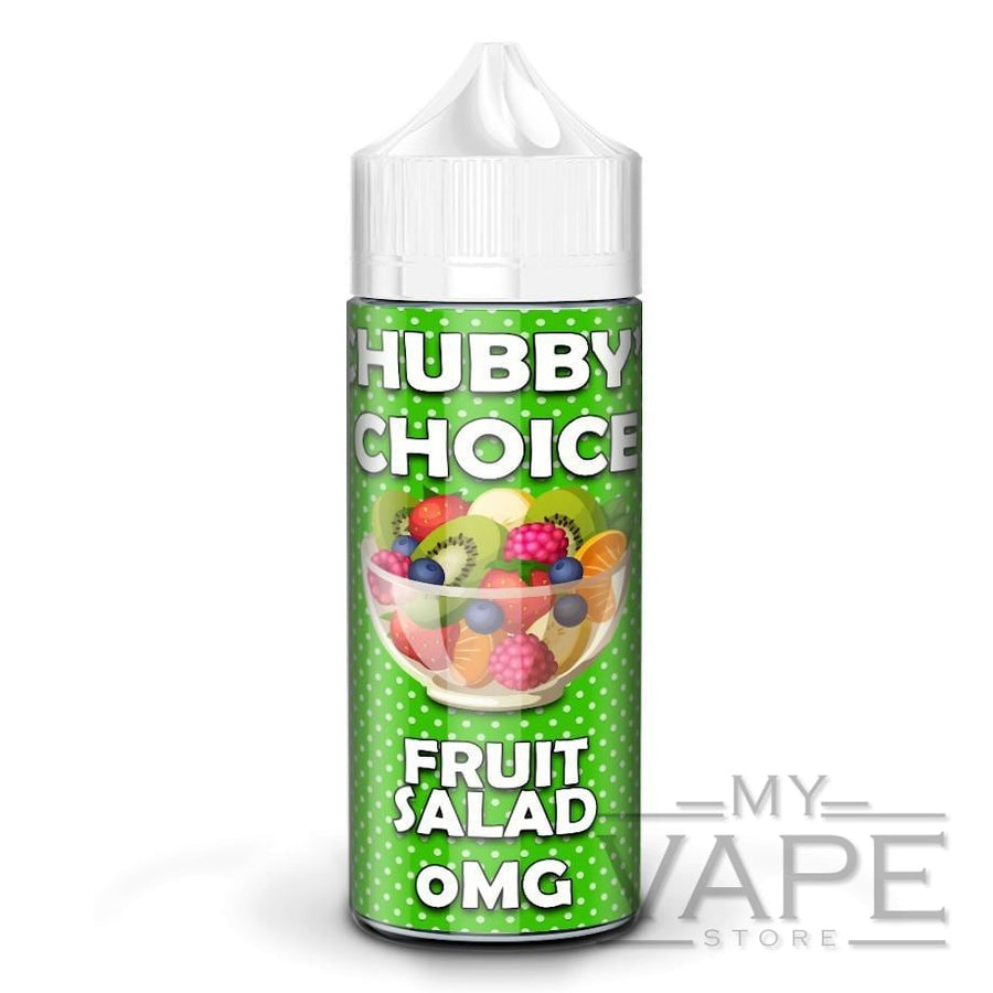 Chubby's Choice - Fruit Salad - 100ml Shortfill - 0mg - My Vape Store UK