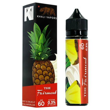 Khali Vapors - The Fairmont - 50ml Shortfill - 0mg - My Vape Store