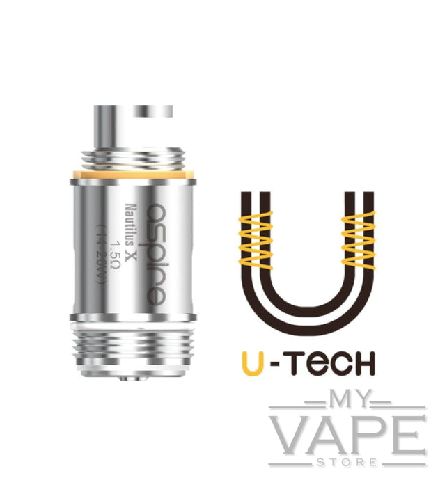 Aspire Nautilus X U-Tech Replacement Coils - My Vape Store