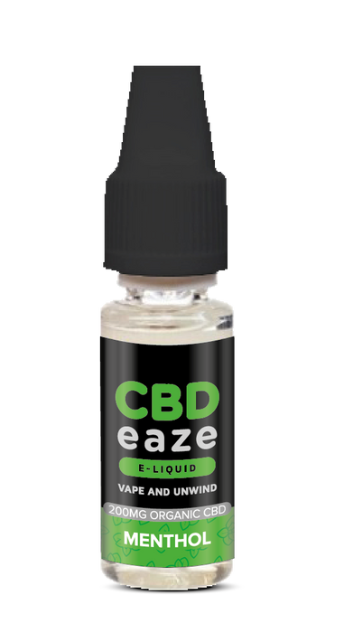CBDeaze - Menthol 200mg - 10ml - My Vape Store UK