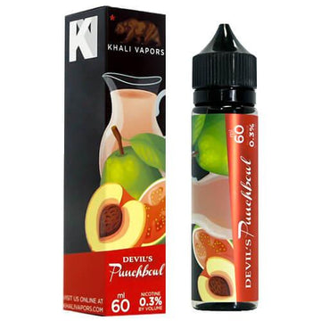 Khali Vapors - Devils Punch - 50ml Shortfill - 0mg - My Vape Store