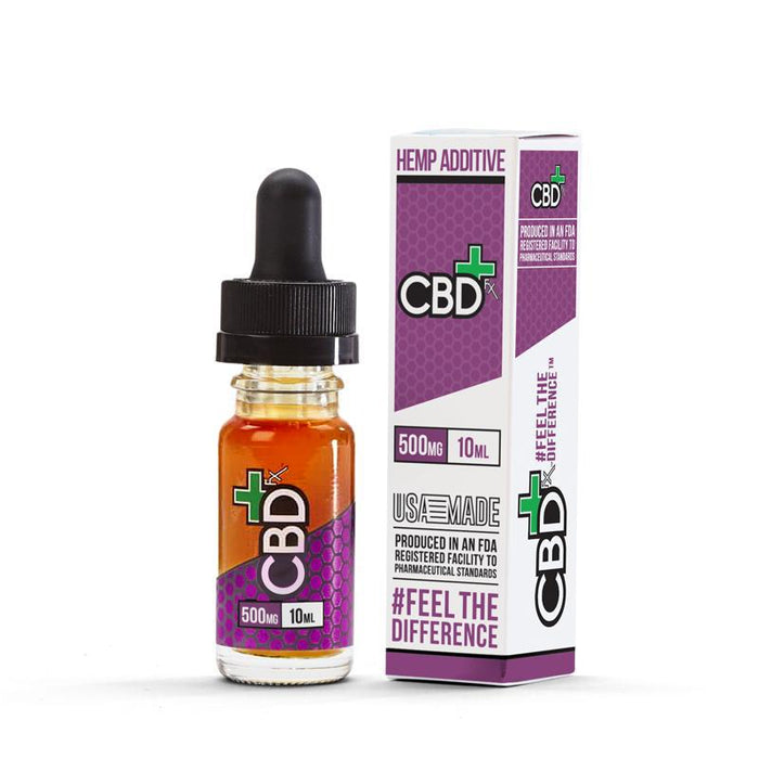 CBD - +FX - Hemp - Additive - 10Ml - 500mg - My Vape Store UK
