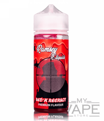 Ramsey E-Liquids - Red 'A' Recruit - 0mg - 100ml - My Vape Store