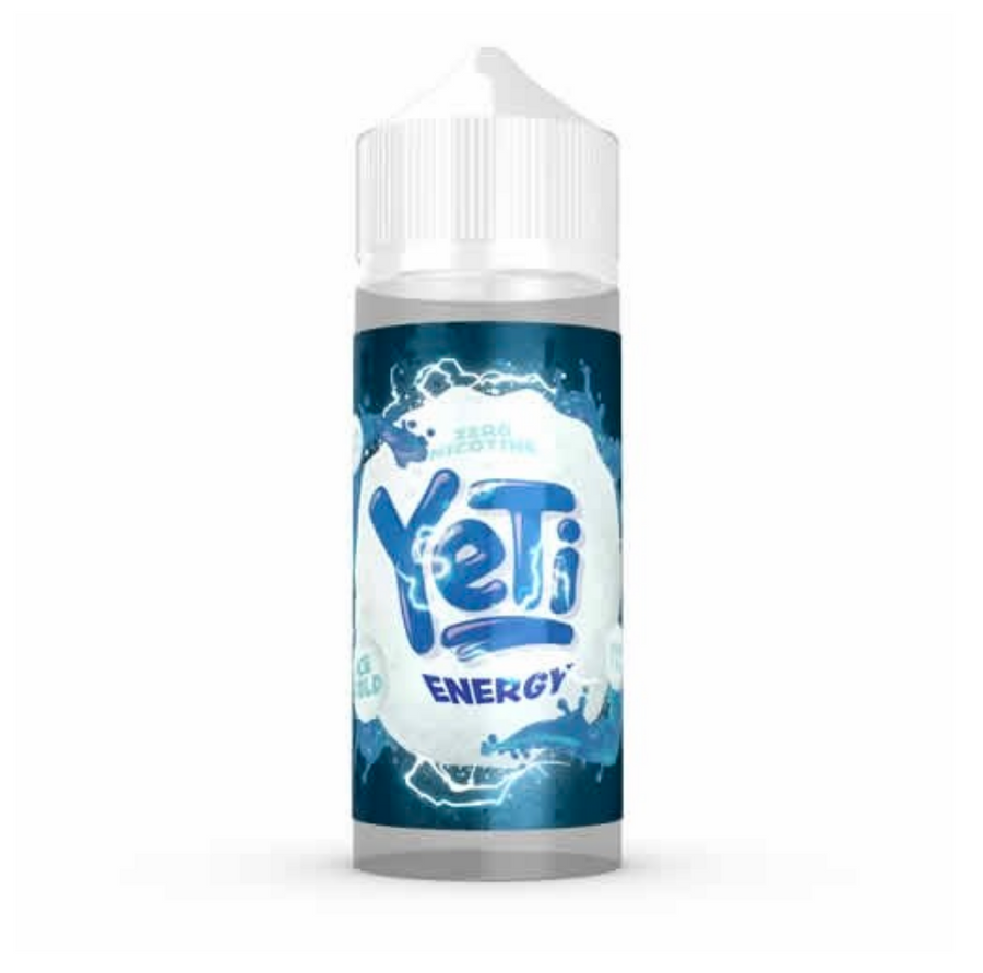 Yeti - Ice Cold - Energy - 100ml - 0mg - My Vape Store