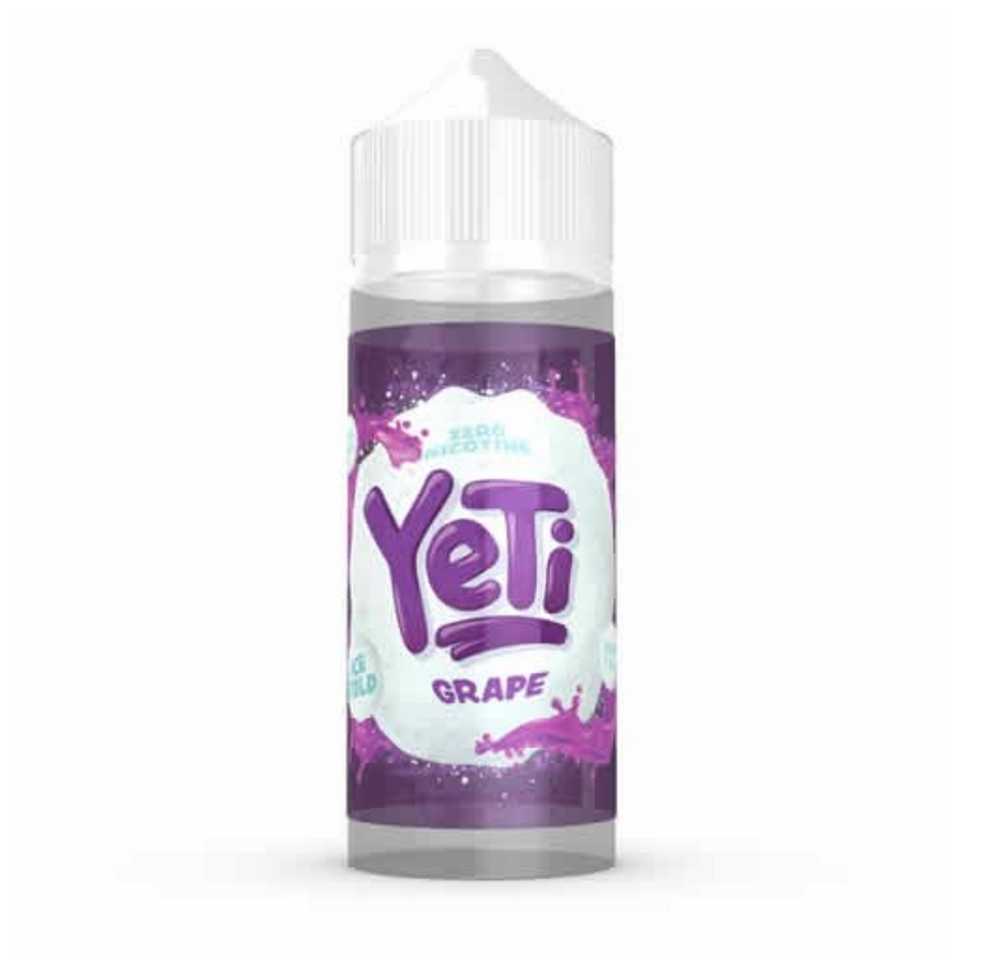 Yeti - Ice Cold - Grape - 100ml - 0mg - My Vape Store