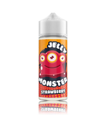 Jelly Monster - Strawberry - 100ml - 0mg - My Vape Store