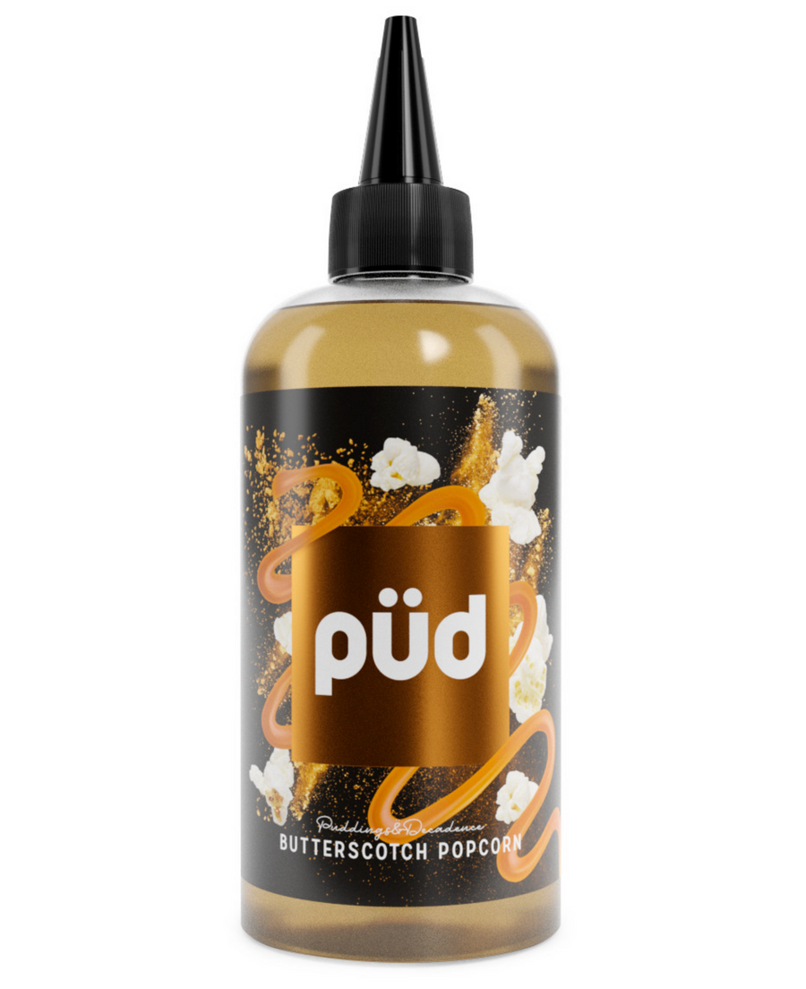 PUD - Pudding & Decadence - Butterscotch Popcorn - 0mg - 200ml - My Vape Store
