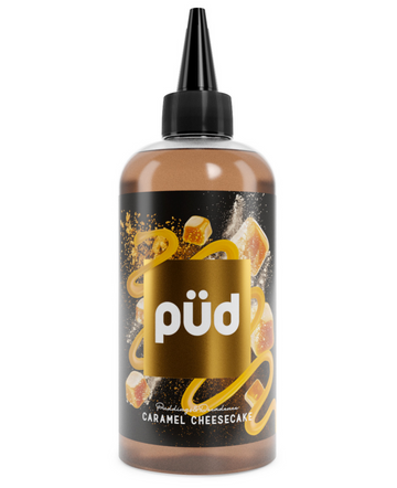PUD - Pudding & Decadence - Caramel Cheesecake - 0mg - 200ml - My Vape Store