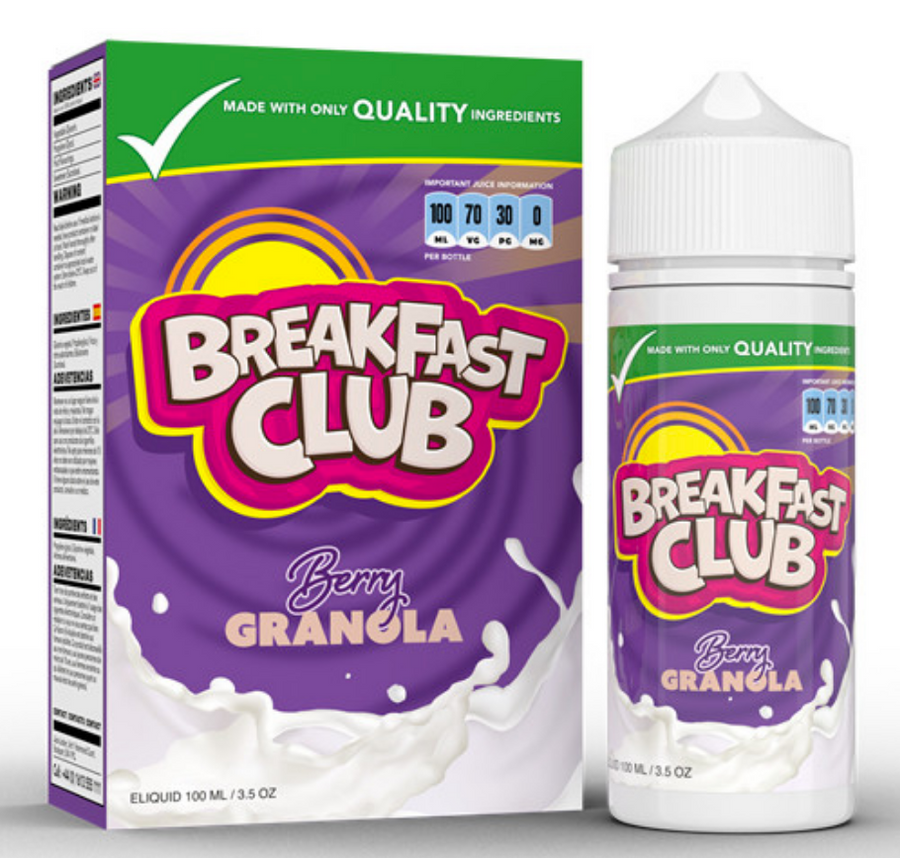 Breakfast Club - Berry Granola - 100ml - My Vape Store