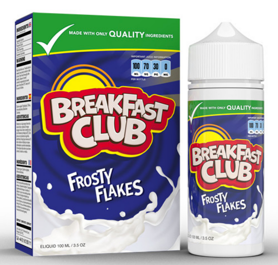 Breakfast Club - Frosty Flakes - 100ml - My Vape Store UK