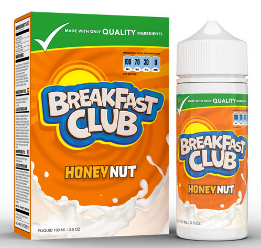Breakfast Club - Honey Nut - 100ml - My Vape Store UK