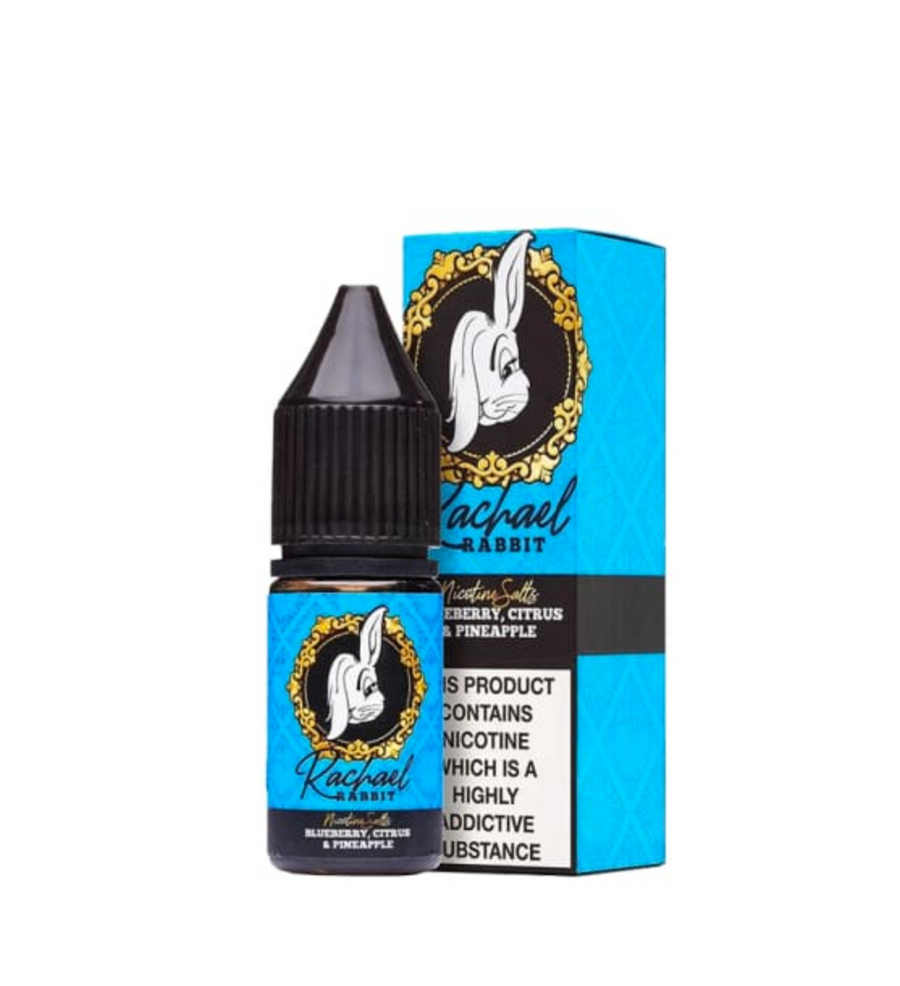 Rachael Rabbit - Blueberry, Citrus And Pineapple - Nic Salt - 10ml - My Vape Store